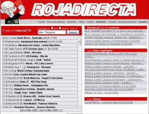 roja 300x229 Rojadirecta: tutto lo sport in streaming online gratis