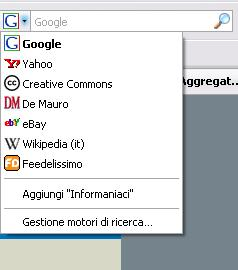 Search for Firefox and IE: Plugin Wordpress per la ricerca
