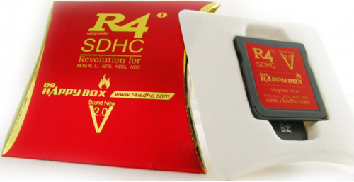 r4 sdhc v2 nintendo dsi Cartuccia R4i SDHC V2.0 Nintendo DS/DS Lite/DSi/DSi XL