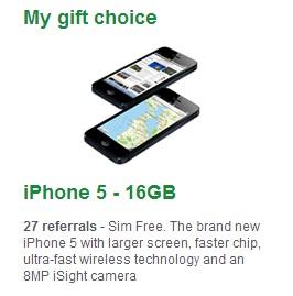 ricevere un iphone 5 gratis